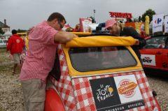 Damien et Thibault, au Parking Caravane