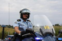 Gendarme sur le Tour de France