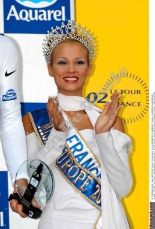 Miss France (podium Aquarel 2002)
