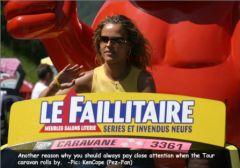 Hotesse Le Faillitaire