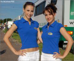 Lucie et Adeline Hauwaert (PMU 2007)