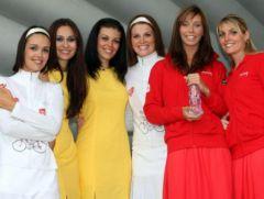 Hotesses du Tour de France 2008