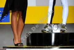 Podium du maillot blanc (Skoda) 2008