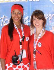 Eméné Nyamé et Aurélie Bresson (Carrefour 2010)