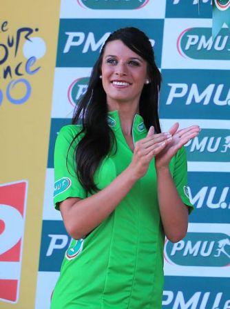 Andrea Vannier, hotesse PMU 2013