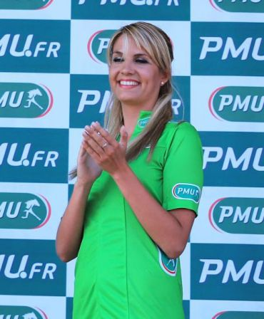 Lucie Masset, hotesse PMU 2013