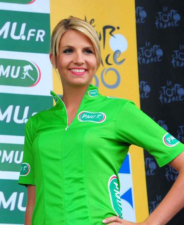 Lucie Maset, hotesse PMU 2013