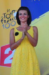 Marie-Alexie Bazerque, hotesse du podium LCL 2013