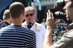 Yvon Sanquer, interviewé par Eurosport